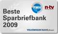 Volkswagen Bank Plus Sparbrief