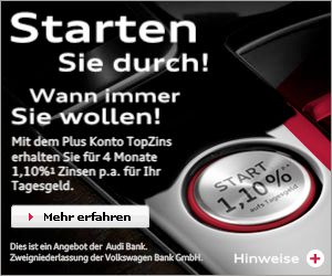 Audi Sparbrief Plus