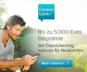 Depotwechsel zur Consorsbank